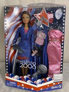 Barbie For President 2008 Brunette Never been opened (E5)