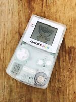 Nintendo GameBoy Color - Refurbished Colour Game Boy Handheld GBC Clear White