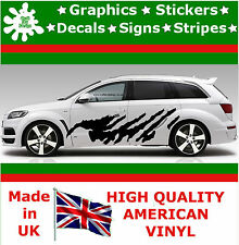 """21"""" High Car Side Stripes Graphics Decal Vinyl Stickers Van Auto Rally Race F1_3"""