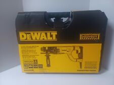 Dewalt Rotary Hammer Drill With Shocks D Handle Sds 1 18 Inch D25263k