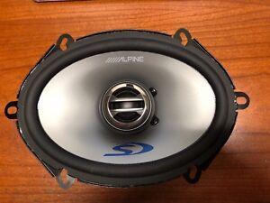 Alpine  SPS-507 2-Way 5in. Car Speakers pair