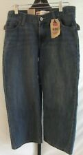 NWT Levi Strauss 550 Relaxed Boy Blue Jeans 28 x 23 Pants Husky Size 8