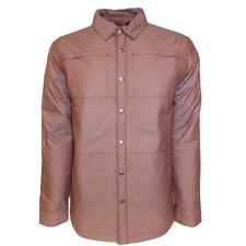 The North Face Lefferts blusa chaqueta talla mediana secuoya rojo Heather hombre