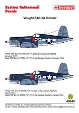 Techmod Decals 1/48 VOUGHT F4U-1A CORSAIR Fighter
