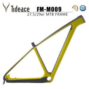 29er Full Carbon Fiber Mountain MTB Bike Frameset T800 Carbon Bicycle Frame Matt