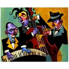 "Tim Rogerson! ""Three Black Ties"" Ltd Ed Giclee on Canvas, No. & Hand Signed"