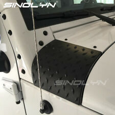 Cowl Body Armor Cover Diamond Plate Trim For 07-17 Jeep Wrangler JK Accessories