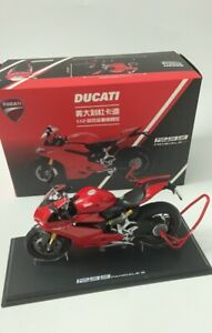 1/12 DUCATI 1299 PANIGALE S TSM Diecast Motorcycle Model RARE COLLECTION