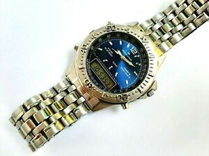 Rare Vintage MEISTER ANKER Ana-Digi men's watch, DIVER Style, CHRONO, beautiful.