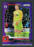 2019-20 ARTUR BORUC 02/75 PANINI PRIZM PREMIER LEAGUE BREAKAWAY PURPLE