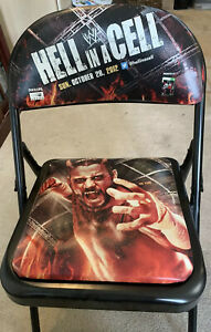 WWE Hell In A Cell 2012 Chair CM Punk wwf wcw aew