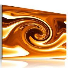 GOLDEN PATTERN SWIRL ABSTRACT CANVAS MODERN WALL ART PICTURE LARGE AZ549 MATAGA