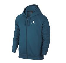 NEW Men's Jordan Flight Fleece Full Zip Up Hoodie Size: X-Large Color: Green