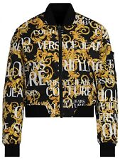 VERSACE JEANS COUTURE ladies reversable bomber jacket size 10 (italy 42)