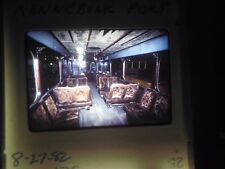 Original Slide Train station Kennebunk Maine Trolley Museum car passenger coach