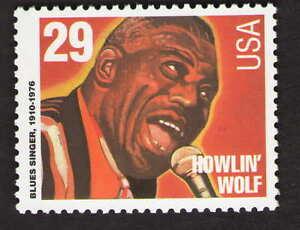 US. 2861. 29c. Howlin' Wolf (1910-76), Jazz Singers. Mint. NH. 1994