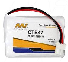 MI CTB47 3.6V NiMH Cordless Phone Battery BT-750,CT-905,906C,910,DSS2155,DSS2165