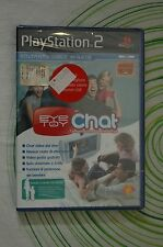 EYE TOY CHAT ps2 pal NUOVO