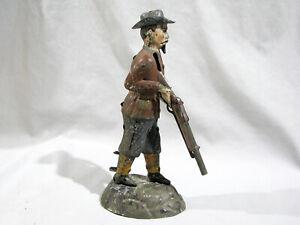 Antique TIN TOY - BUFFALO BILL - MECHANICAL - GERMAN