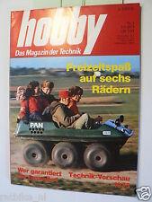 HOBBY 1973-1,TEST ALOIS PAN 6-RADER AMFICAR,KILLI SKI,F-15,F-14 JAGER,FORD CAPRI