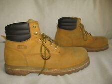 BRAHMA Brutis II Men 13 M Tan Suede Steel Toe Work Boots
