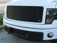 GrillCraft 2013-14 Ford F-150 Black MX-Series Mesh Grille Grill 2PC Insert Set