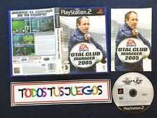 Total Club Manager 2005 PlayStation 2 BUEN ESTADO 0093