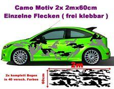 Winter Camouflage Flecken Folie Aufkleber Sticker Hater Geil Old JDM 2x 2m Camo