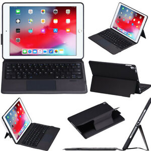 """Keyboard Leather Case For iPad 7th 8th Gen 10.2"""" Air 4th 3rd Gen Pro 11"""" 10.5"""""""
