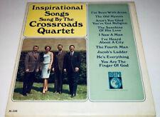 Arthur Smith & The Crossroads Quartet Inspirational Songs Gospel vinyl LP 22S