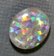 Australian Lightning Ridge Solid Semi Black Opal Loose Stone 4.35 cts