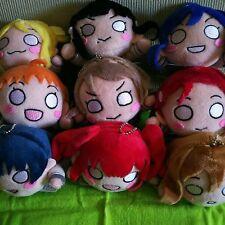 Love Live! Sunshine!! Plush Doll Mascot Choose 2 of 9 kinds Anime Manga Japan