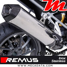 Silencieux Pot échappement Remus Hexacone inox BMW R 1200 GS Adventure 2017