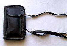 Schulter Safe Leder Umhängetasche Schultertasche Geldbörse Sicherheit Safty