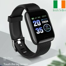 Smart Watch 116Plus Bluetooth Heart Rate Fitness Tracker for iPhone iOS Android