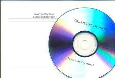 CARRIE UNDERWOOD RARE Australian PROMO CD Jesus Take The Wheel