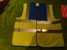 BN YOKO SAFETY WEAR HI VIZ TABARD/ VEST SIZE 3XL BLUE AND GREEN