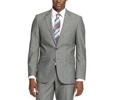 Kenneth Cole Unlisted Men's Mid Grey Pindot 38/Short Slim Fit Blazer Sportcoat