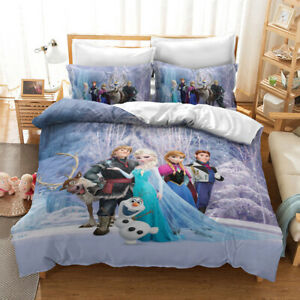 Frozen Family Single/Double/Queen/King Bed Quilt Cover Set