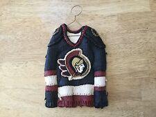 Ottawa Senators Hockey Jersey Ceramic Decoration