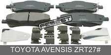 Pad Kit, Disc Brake, Front - Kit For Toyota Avensis Zrt27# (2008-)