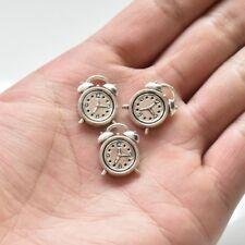 20X Tibetan Silver Alarm clock Charm Pendant 13*18 mm For DIY Earrings/Bracelet