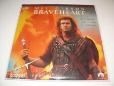 LaserDisc ~ Braveheart ~ Mel Gibson ~ NTSC ~ Double Disc ~ Paramount