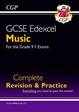 CGP GCSE EDEXCEL Music Complete Revision & Practice Book + AUDIO CD Grade 9-1
