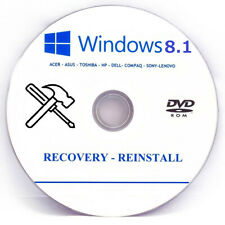 Microsoft Windows 8.1 32-bit OS Recovery Fix Disk 1st class 📮FAST Royal Mail 📮
