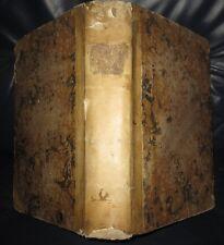 1771 ANTIDOTARIUM, Raro libro di Farmacia Bolognese. BOLOGNA, RICETTE...........