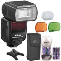 Nikon Speedlight SB-5000 Speedlight AF Shoe Mount Flash + Battery & Charger