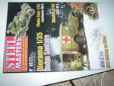 ** STEEL MASTERS n°69 Le Char Renault R-35 armée Roumaine / STUG III / M41 Liban