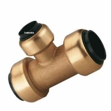 Druckluft Rohr T-Steckverbinder 15-15-15 mm aus Messing
