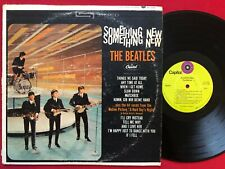THE BEATLES ~ SOMETHING NEW LP (1969) CAPITOL ST-2108 STEREO ~ LIME GREEN